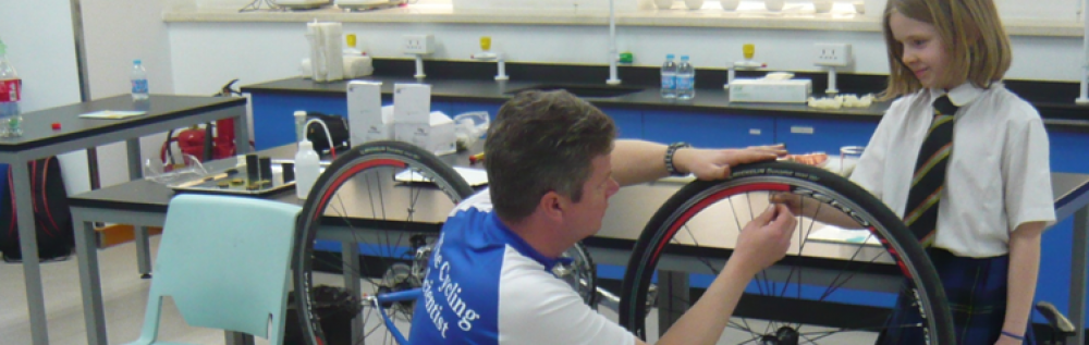 The Cycling Scientist